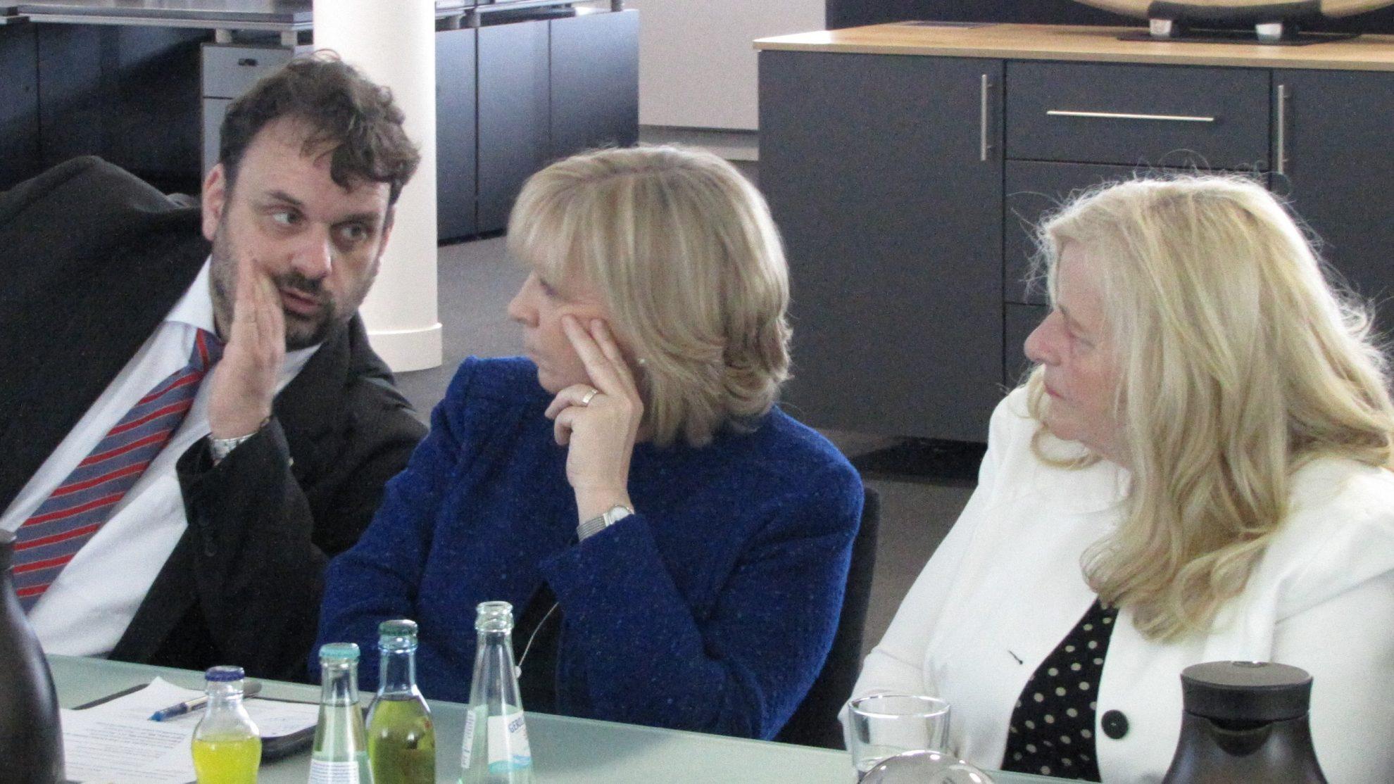 Guido van den Berg MdL, Hannelore Kraft MdL, Brigitte Dmoch-Schweren MdL