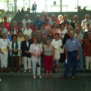 Besuchergruppe aud dem Wahlkreis von Helga Kühn-Mengel MdB in Berlin September 2004
