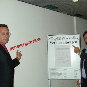 getarnte CDU-Wahlwerbung im Kreishausfoyer