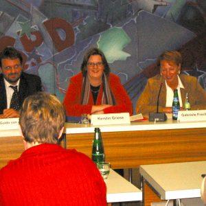 Guido van den Berg, Kerstin Griese und Gabriele Frechen