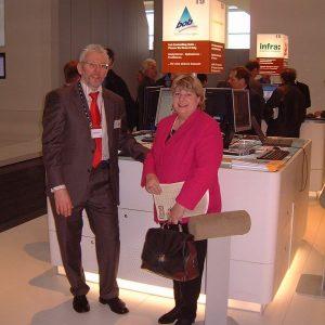Helga Kühn-Mengel Cebit 2005 Firma Neovo