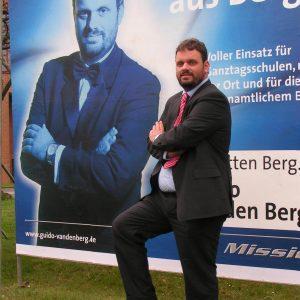 """Guido van den Berg wirbt mit """"Liebesgrüßen aus Bergheim"""""""