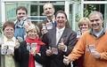 Wahlkampf für Anke Brunn