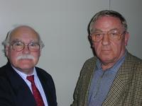 Karl-Heinz Niebes und Gerd Erlenhardt