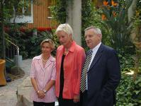 Annette Breitbach-Schwarzlose MdL, Schulministerin Gabi Behler, Edgar Moron MdL