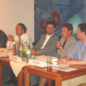"""Diskussionsrunde zum Thema: """"Medien und Politik."""""""