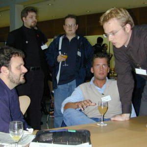 Guido van den Berg, Martin Bornträger und Jochen Ott