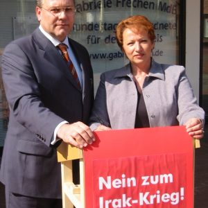 Gabriele Frechen MdB und Hardy Fuß MdL