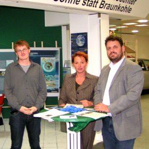 Rhein-Erft SPD besucht Greenpace in Grevenbroich