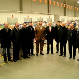 SPD-Kreisvorstand besucht das Logistikzenttrum von PLUS in Kerpen