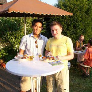 Stefan Drewek aus Gleuel und Jin-Kyu Jung aus Efferen