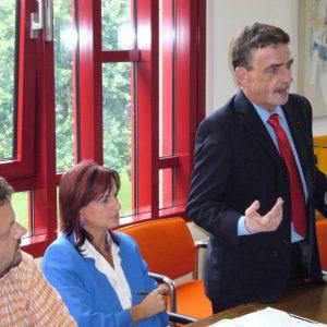 Michael Groscheck, Generalsekretär der NRWSPD beim SPD-Kreisvorstand im August 2006
