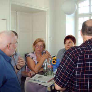 Diskussionen: Die Mitglieder sind gefragt beim Konvent der Rhein-Erft SPD