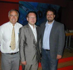 Günter Reiners, Dr. Karsten Rudolph  und Guido van den Berg.
