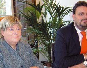 Helga Kühn-Mengel und Guido van den Berg (Foto: Stölting)