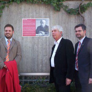 Guido van den Berg, Dr. Hans Erler und Dietmar Nietan