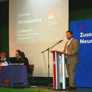 Kreisparteitag in Hürth am 20.10.2007