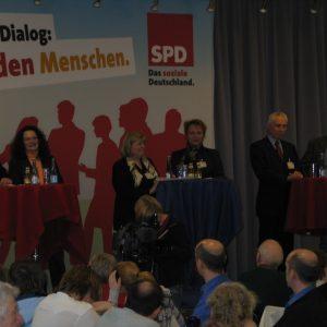 Guido van den Berg, Andrea Nahles, Helga Kühn-Mengel, Gabriele Frechen