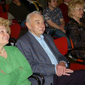 Die Eheleute Adams während der Feierstunde der Bergheimer SPD
