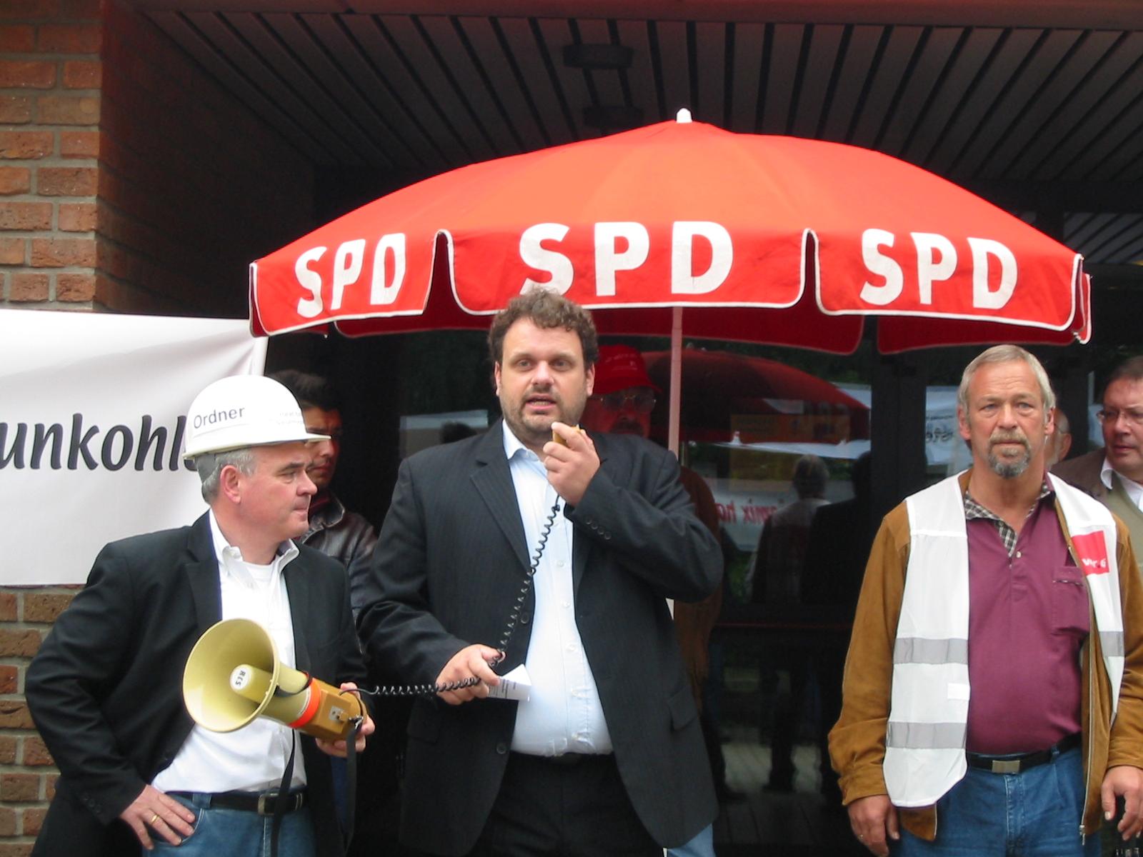 Harald Könen, Guido van den Berg, Manfred Holz
