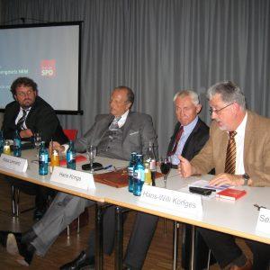 Guido van den Berg, Klaus Lennartz, Hans Krings, Hans-Willi Körfges