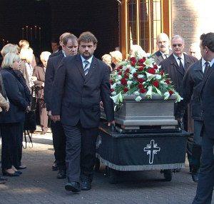 Beerdigung von Karl-Friedrich Schild