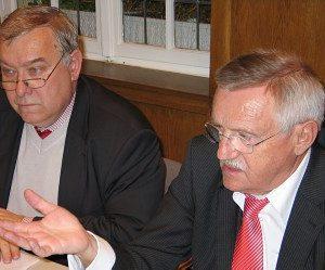 Franz Georg Rips und Edgar Moron