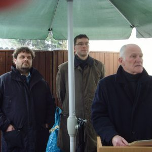 Guido van den Berg, Florian Herpel und Otto Dann
