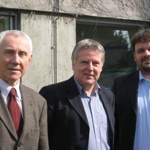 Hans Krings, Andreas Kossiski, Guido van den Berg