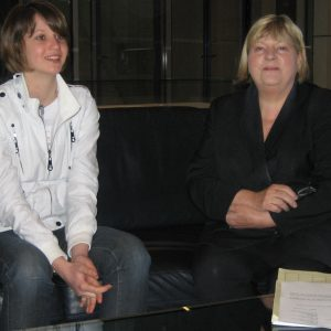 Helga Kühn-Mengel, MdB mit Lara Michels