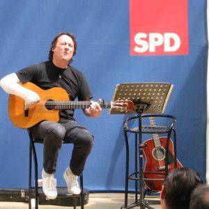 Konradin Meyer bei der 140 Jahr Feier der SPD