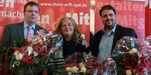 Helge-Peter Herrwegen, Brigitte D'moch-Schweren und Guido van den Berg