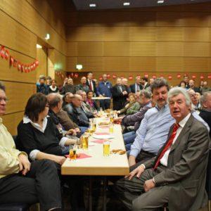 """Auch in diesem Jahr war der Saal beim """"Politischen Ascherdonnerstag"""" gut gefüllt"""