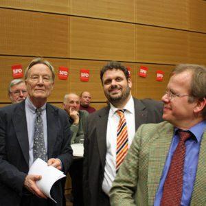 Gute Laune bei Franz-Josef Antwerpes und Guido van den Berg