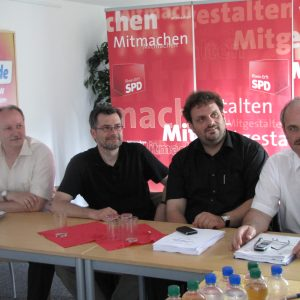 Hans-Peter Lafos, Dietmar Nietan, Guido van den Berg, Dieter Faust