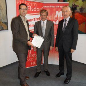 Dierk A. Timm, Karl-Heinz Zühlke und Hans Krings