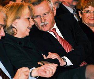Hannelore Kraft, Edgar und Isolde Moron