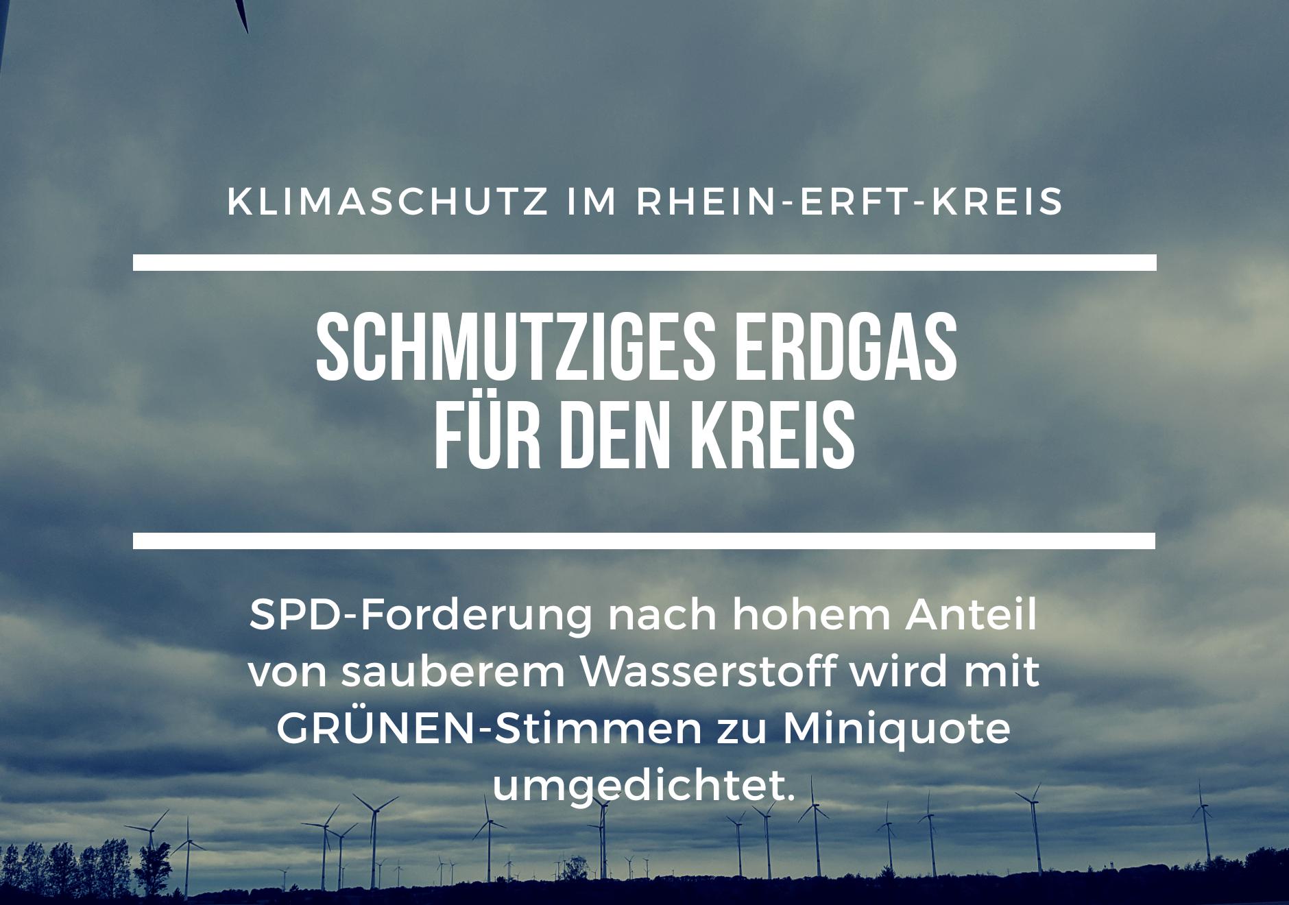 Sharepic Energielieferungen: Mit Stimme der GRÜNEN wird nur eine Miniquote für sauberen Wasserstoff eingeführt
