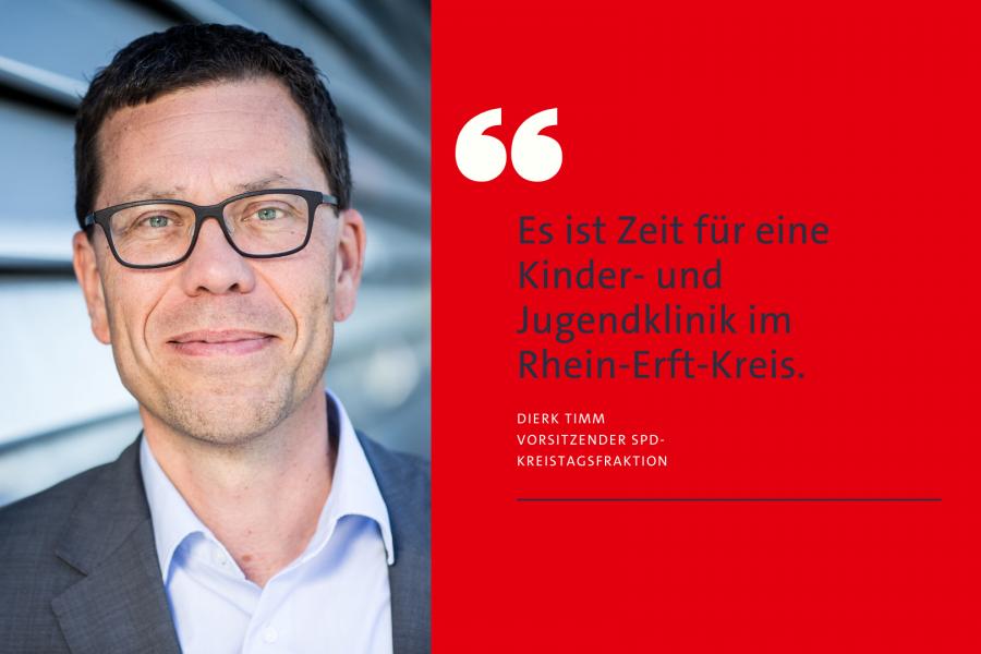 Dierk Timm: Es ist Zeit für eine Kinderklinik im REK.