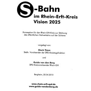 Original Deckballt des SPD SBahn Konzepts von 2010