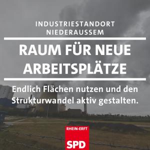Dritter Anlauf: SPD fordert Plan für Nutzung der Flächen am Kraftwerk Niederaußem