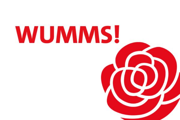 WUMMS! mit SPD Rose