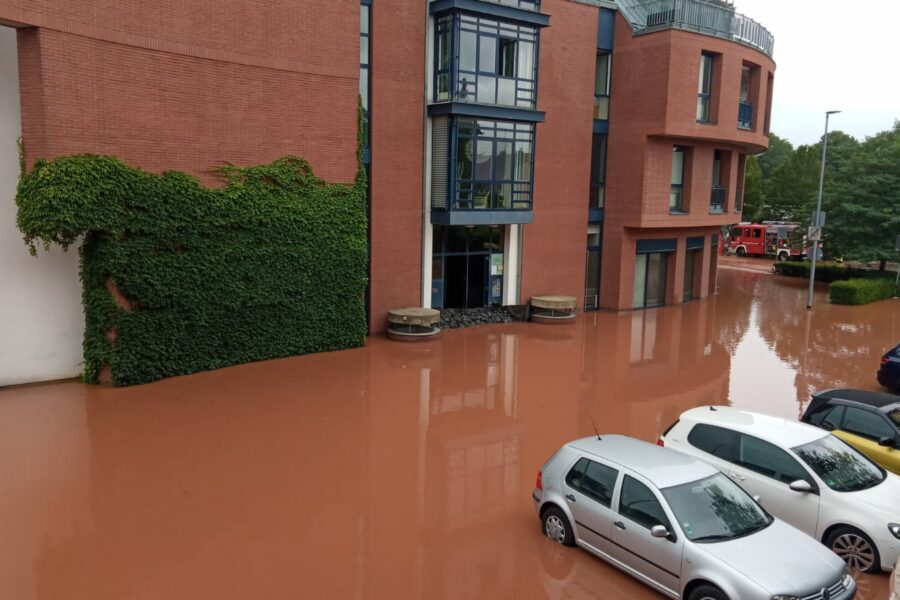 Hochwasser in Erftstadt